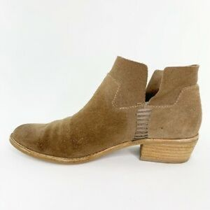 Dolce Vita suede ankle booties size 7